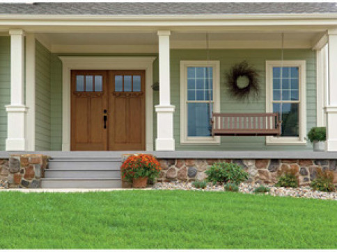 Fiberglass or Steel Entry Doors